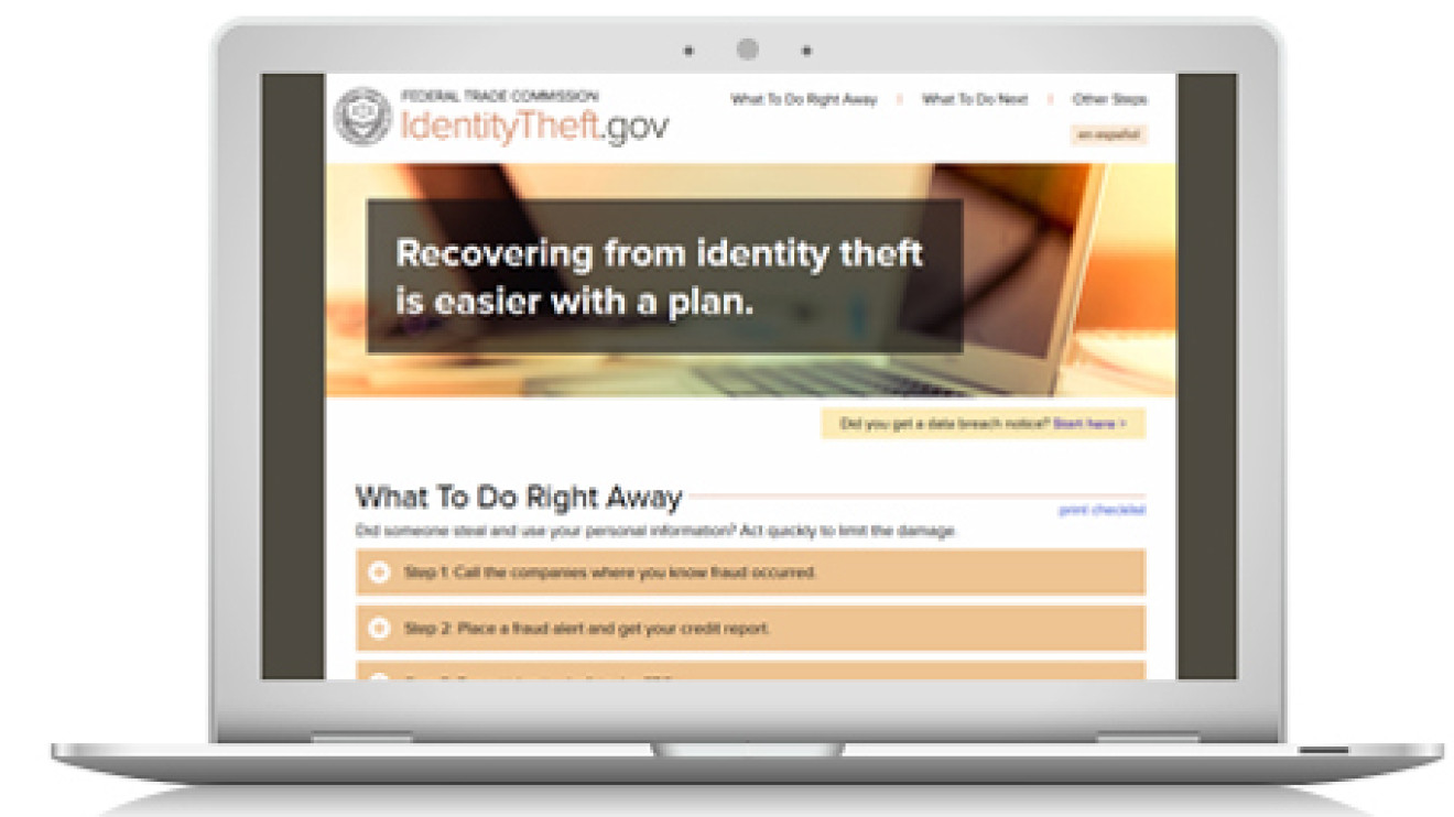 <a href=https://www.ftc.gov/news-events/press-releases/2015/05/ftc-launches-new-resource-identity-theft-victims target=_blank >FTC Launches New Resource for Identity Theft Victims</a>